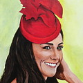 Katherine Duchess Of Cambridge by Betty-Anne McDonald