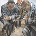 Kings Prayer At Selma by Todd  Gates