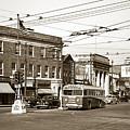 Kingston Corners Kingston Pa Early 1950s by Arthur Miller