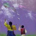 Kite Flying by Mui-Joo Wee