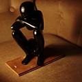 Kneeling Man by Hannah Van Patter
