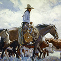 Koerner: Cowboy, 1920 by Granger