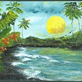 Kona Sunrise by Laura Johnson