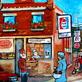 Kosher Bakery On Hutchison Street by Carole Spandau