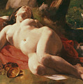 La Bacchante by Gustave Courbet