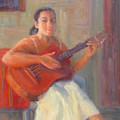 La Guitarista by Bunny Oliver