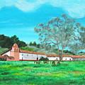 La Purisima Mission by Angie Hamlin
