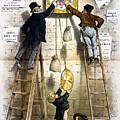 Labor Movement. Editorial Cartoon by Everett
