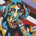 Labrador Puppy  by Caroline Davis