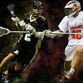 Lacrosse Close D #2 by Scott Melby