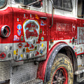 Ladder Truck 152 - In Remembrance Of 9-11 by Eddie Yerkish