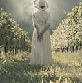 Lady In Vineyard by Joana Kruse