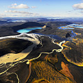 Lake In An Old Volcanic Crater Or by Mattias Klum