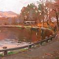 Lake In Bear Mountin by Ylli Haruni