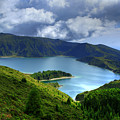 Lake In The Azores by Gaspar Avila