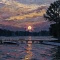 Lake Martin Sunset by Tyler Smith