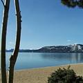 Lake Tahoe Incline Village Blue Sky Reflection by Marlene Puza