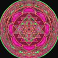 Lakshmi Yantra Mandala by Svahha Devi
