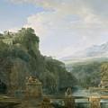 Landscape Of Ancient Greece by Pierre Henri de Valenciennes