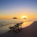Lanikai Lounging At Sunrise by Tomas del Amo
