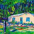 Las Casas De Nuestros Vecinos  by George Chacon