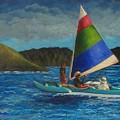 Last Sail Before The Storm by Laurie Morgan