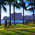 Late Afternoon - Queen's Surf by Douglas Simonson