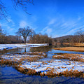 Leftover Snow by Rick Friedle