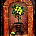 Lemon Tree by OLena Art Brand