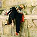 L'enfant Du Regiment by Sir John Everett Millais