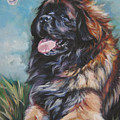 Leonberger Art Print by Lee Ann Shepard