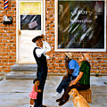 Leroys Barbershop by Dorothy Riley