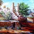 Libyan Farm by Abdussalam Nattah