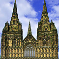 Lichfield Cathedral - The West Front by Rod Johnson