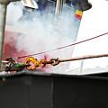 Lifeboat Chocks Away  by Terri Waters