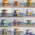 Lifeguard Houses by Frank Boellmann