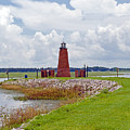 Lighthouse At Port Kissimmee On Lake Tohopekaliga In Central Florida   by Allan  Hughes