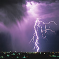 Lightning Storm by Leland D Howard