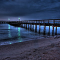 Lights At The End Of The Pier by E R Smith