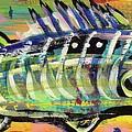Lil' Funky Folk Fish Number Ten by Robert Wolverton Jr