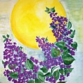 Lilacs In The Midnight Sun by Irenemaria