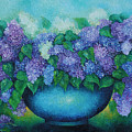 Lilacs No 3. by Evgenia Davidov