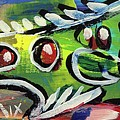 Lil'funky Folk Fish Number Thirteen by Robert Wolverton Jr