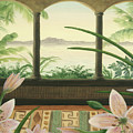 Lilies In Paradise by Cathy Cleveland