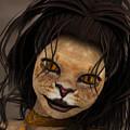 Lioness by Jutta Maria Pusl