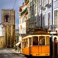 Lisbon Tram by Carlos Caetano