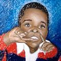 Little Boy Blue  by Keenya  Woods