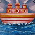 Little Pink Ship by Rita Fetisov