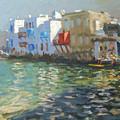 Little Venice Mykonos by Andrew Macara