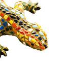 Lizard Souvenir By Antony Gaudi by Soultana Koleska